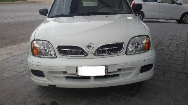 Φανοποιία Γέρακας Βλασόπουλος Χρήστος - Βαφή Nissan Micra