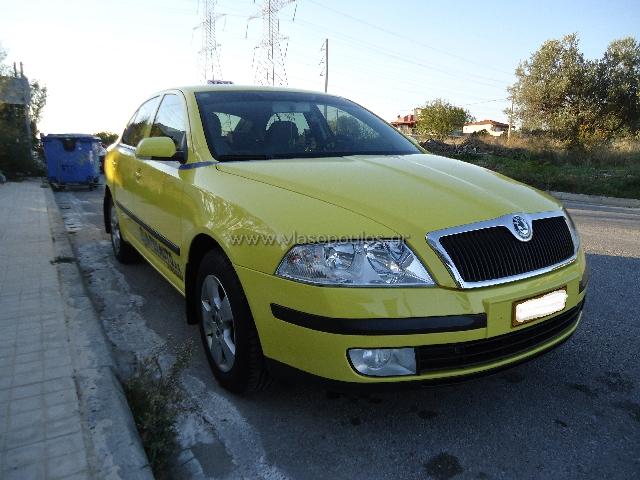 Βαφή αυτοκινήτου skoda octavia taxi - Βλασόπουλος Φανοποιϊο Γέρακας