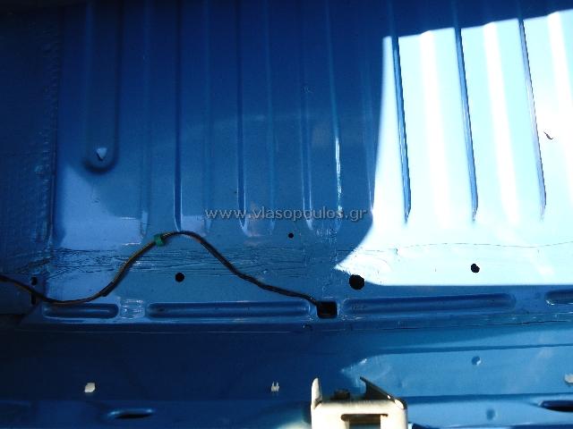 fiat συλλεκτικό αυτοκίνητο - εργασίες ανακατασκευής συλλεκτικού - εσωτερικό